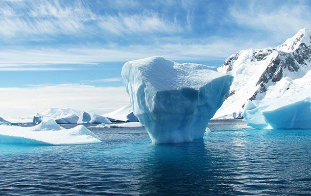 Erderwärmung im Glas
