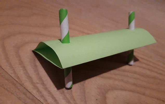 Experimentierbild: fertiger Windradflügel