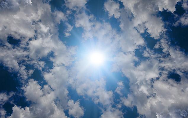Finger-Sonnenkollektor
