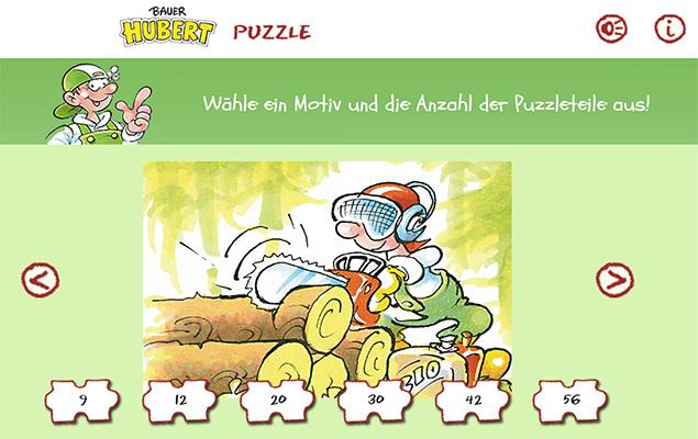 Screenshot Puzzle Bauer Huber